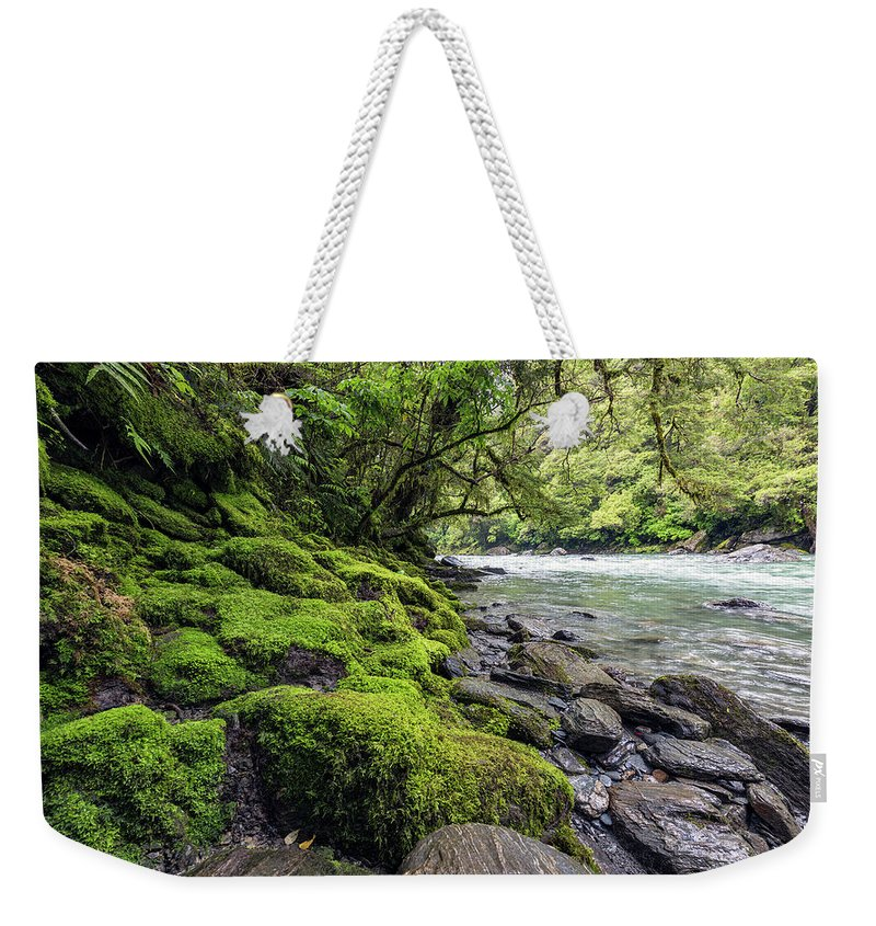 New Zealand Weekender Tote Bag featuring the photograph Magical New Zealand by Shane Linke