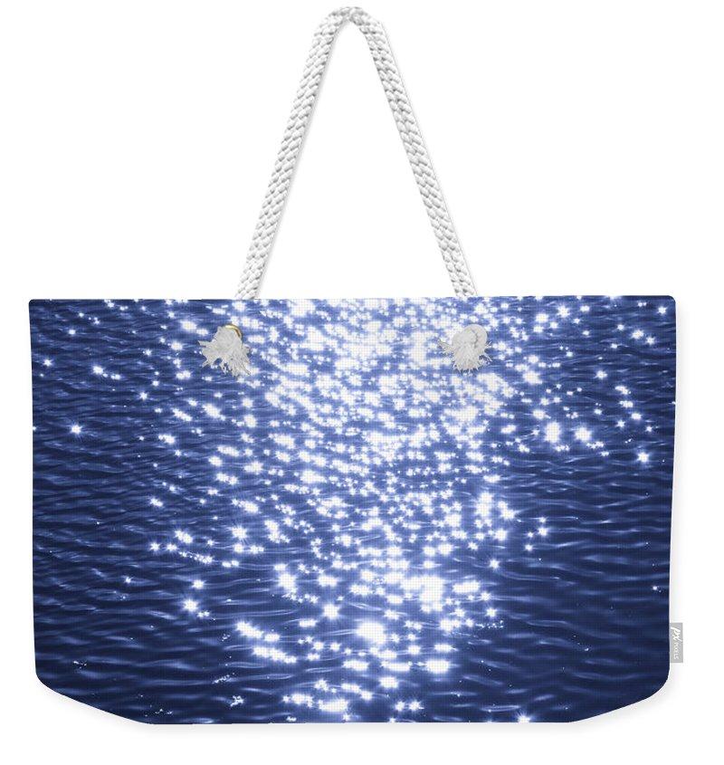 Ocean Weekender Tote Bag featuring the photograph Magical Wave by Cassandra Geernaert