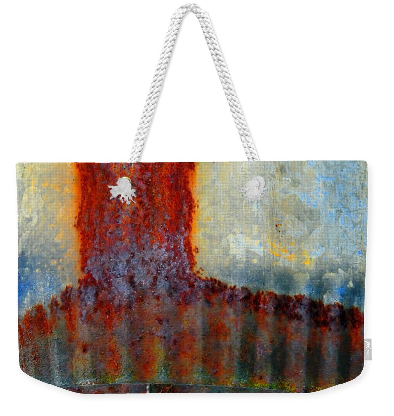 Skip Hunt Weekender Tote Bag featuring the photograph Magma by Skip Hunt