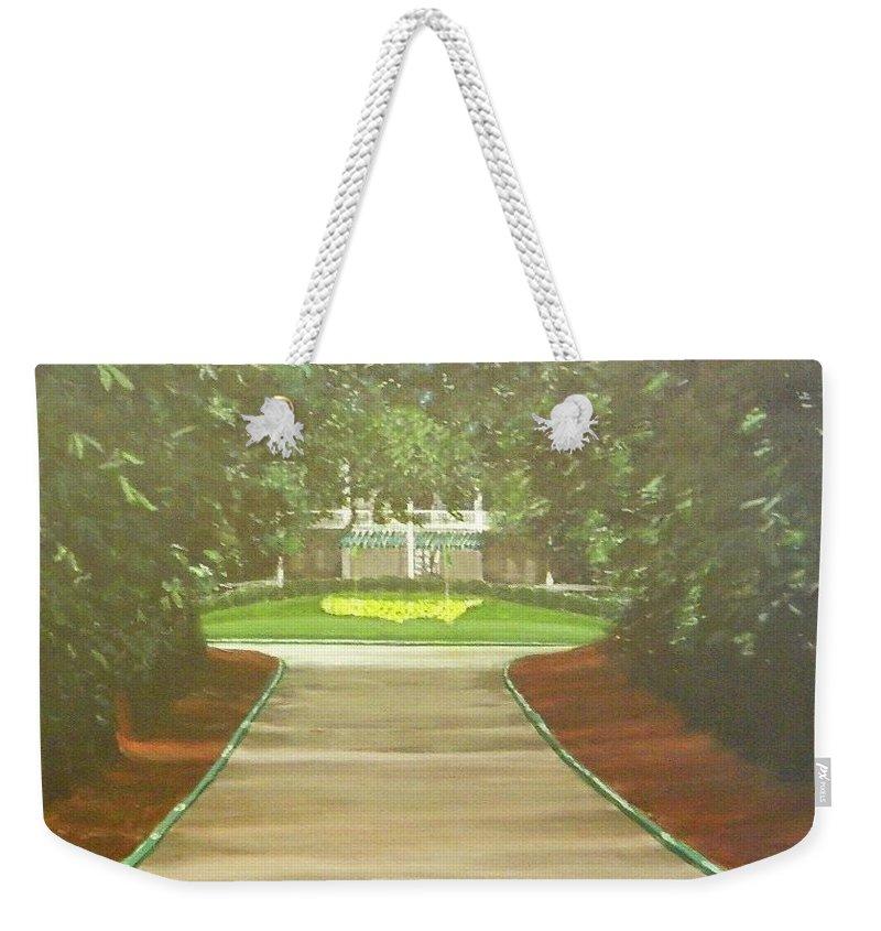 Magnolia Lane Augusta, Ga. Weekender Tote Bag for Sale by Michael Drake