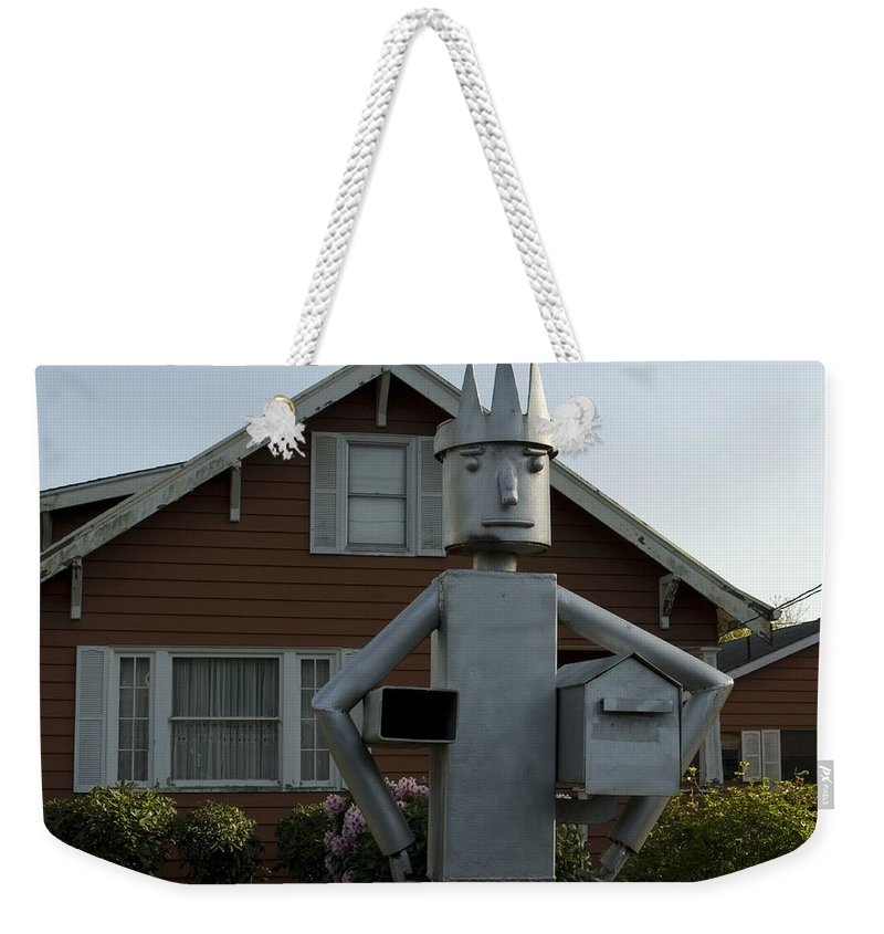Mail Weekender Tote Bag featuring the photograph Mailbox King by Sara Stevenson
