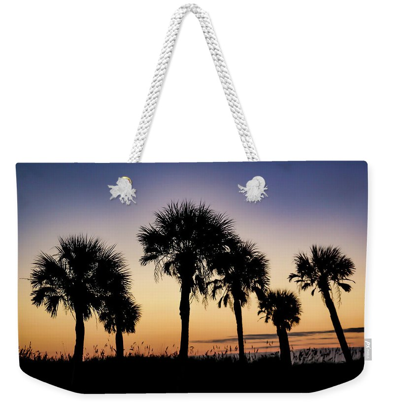 Sunrise Weekender Tote Bag featuring the photograph Main Beach Sunrise by Timothy Cummiskey