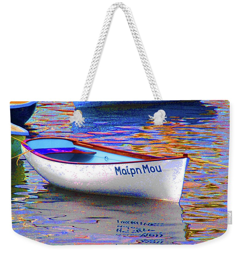 Maipn Mou Weekender Tote Bag featuring the photograph Maipn Mou by Jost Houk