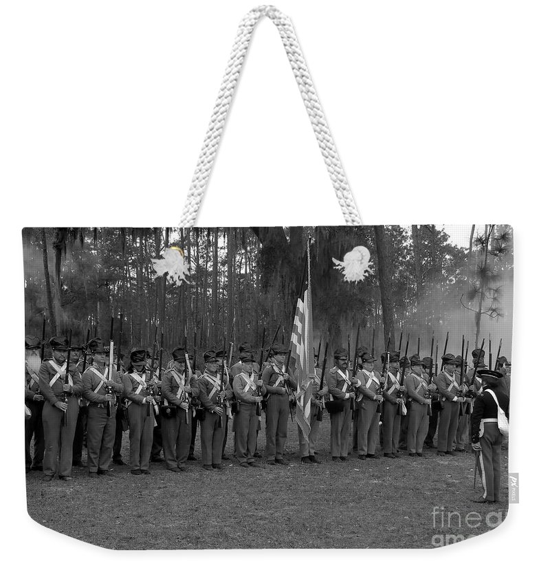 Dade Battlefield Weekender Tote Bag featuring the photograph Major Dade's Men by David Lee Thompson