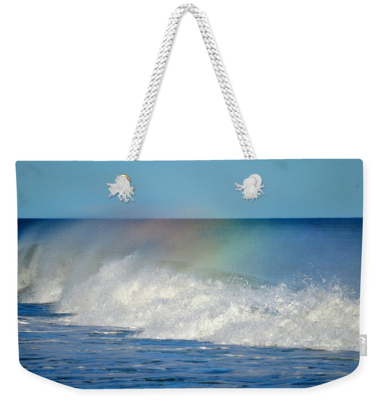Ocean Weekender Tote Bag featuring the photograph Make A Wish by Dianne Cowen