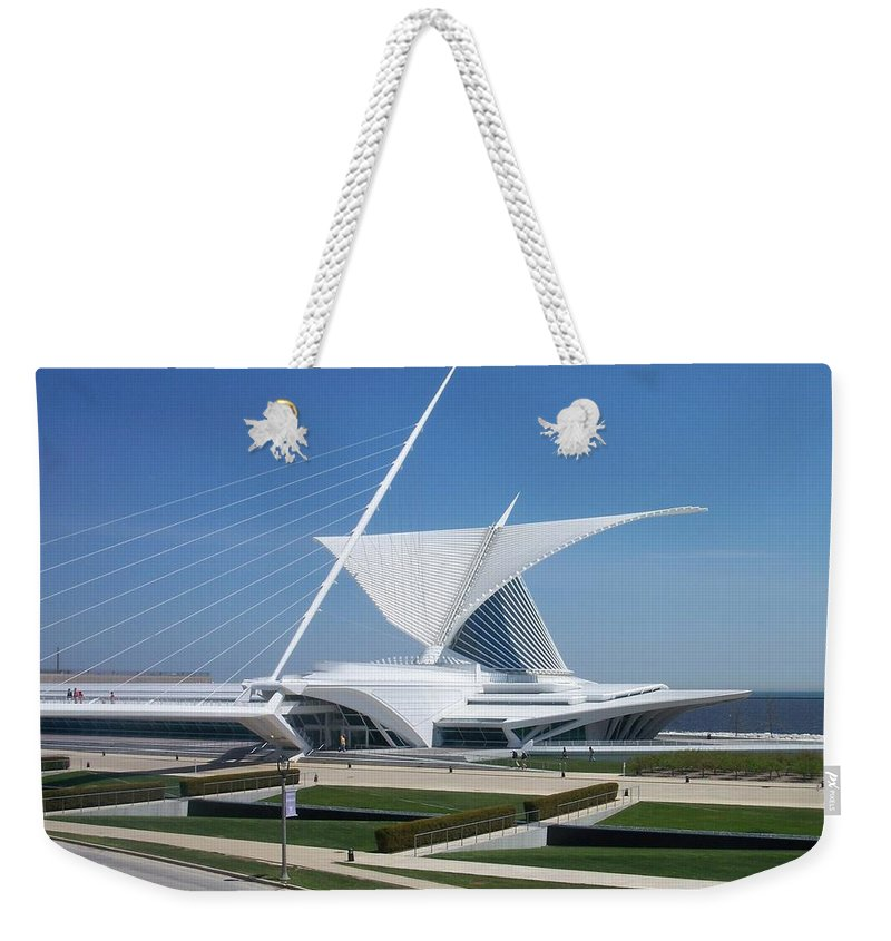 Mam Weekender Tote Bag featuring the photograph Mam Caltrava by Anita Burgermeister