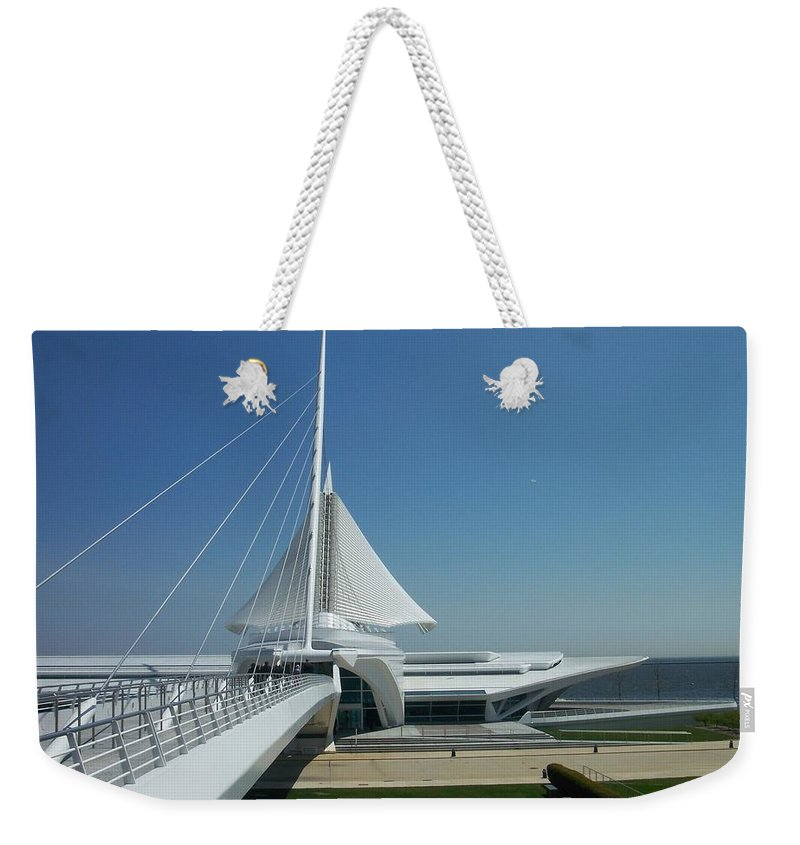 Mam Weekender Tote Bag featuring the photograph Mam Series 1 by Anita Burgermeister
