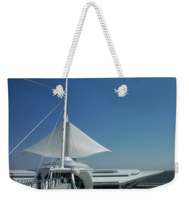 Mam Weekender Tote Bag featuring the photograph Mam Series 2 by Anita Burgermeister