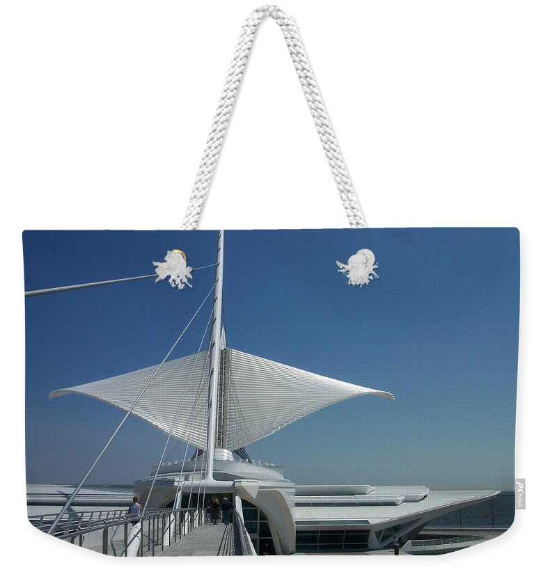 Mam Weekender Tote Bag featuring the photograph Mam Series 3 by Anita Burgermeister