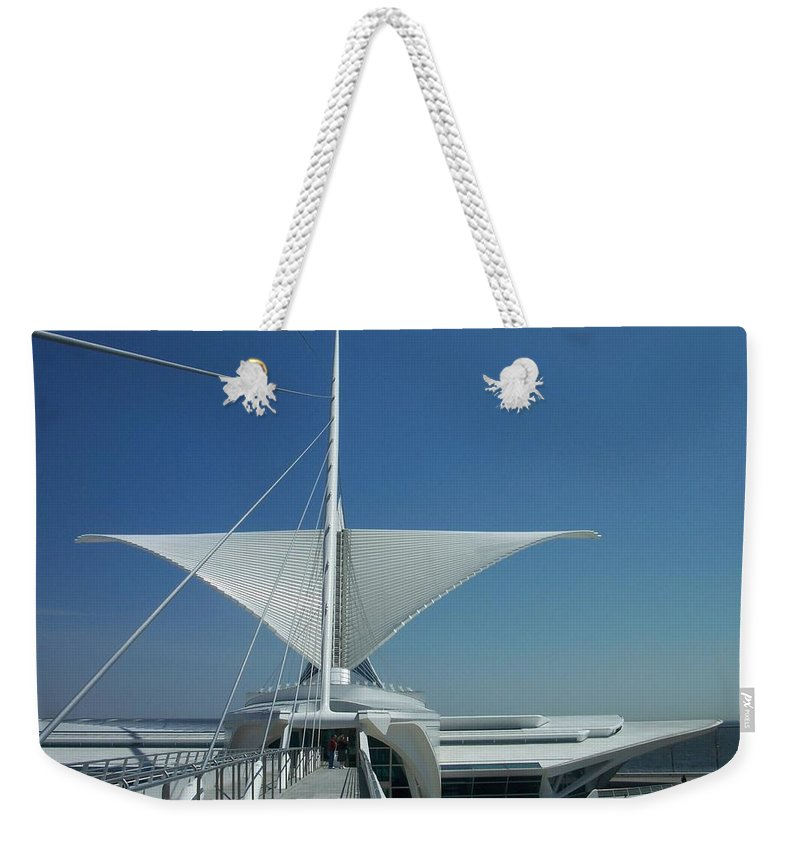 Mam Weekender Tote Bag featuring the photograph Mam Series 4 by Anita Burgermeister