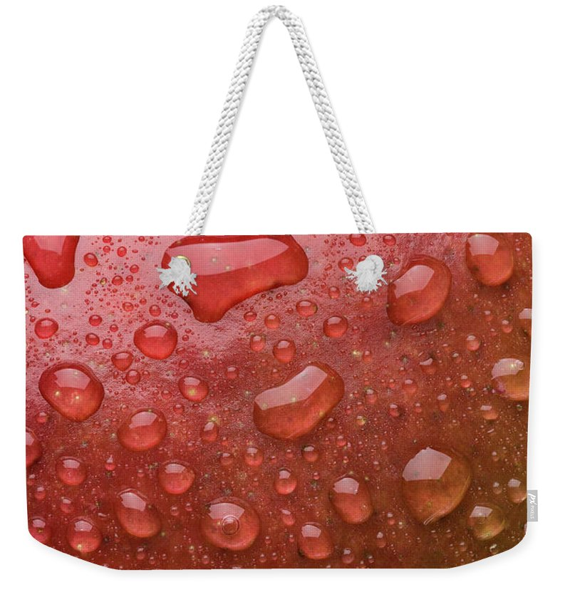 Mango Weekender Tote Bag featuring the photograph Mango Skin by Steve Gadomski