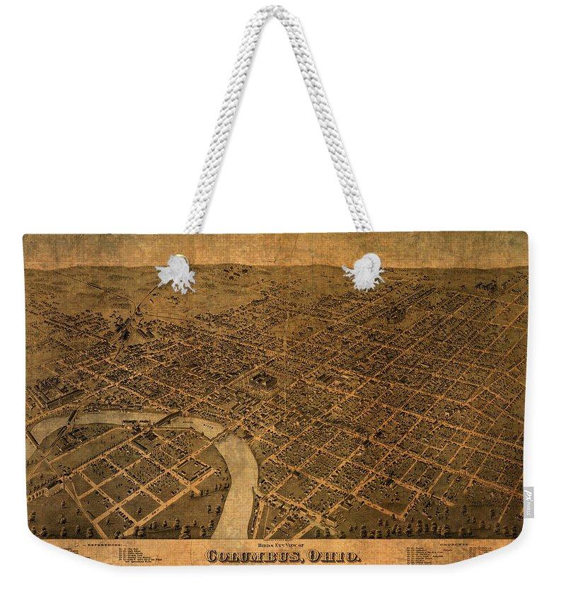 Columbus Weekender Tote Bags