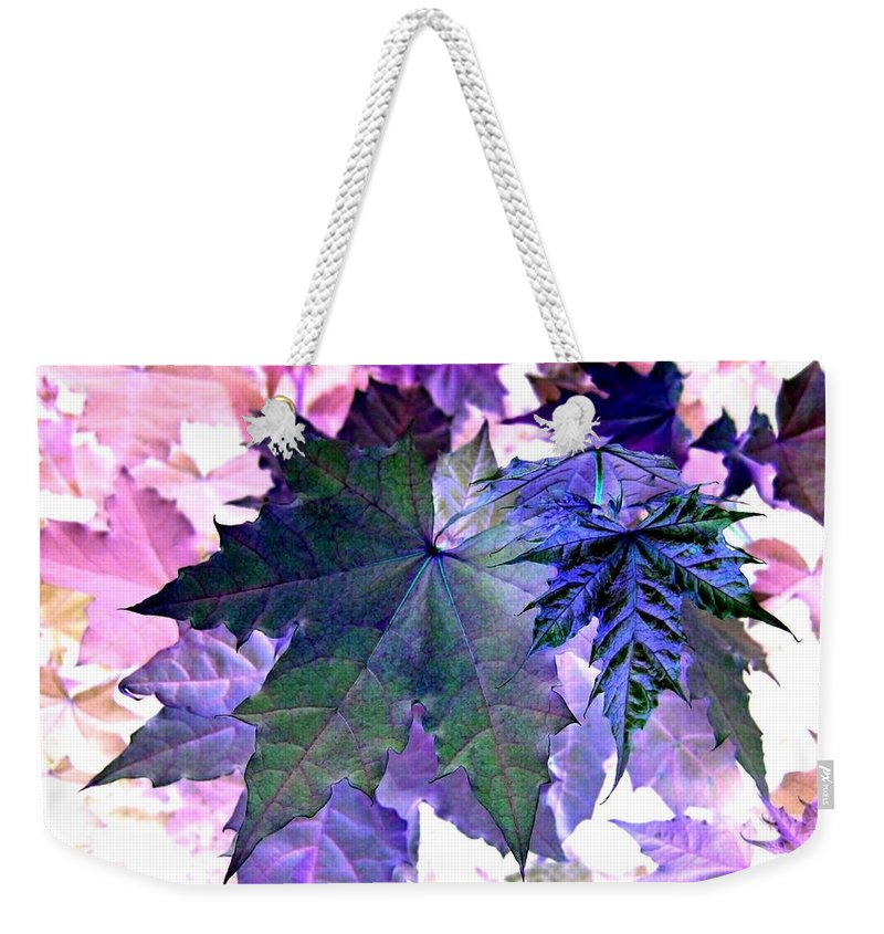 Dramatic Weekender Tote Bag featuring the photograph Maple Magnetism by Will Borden