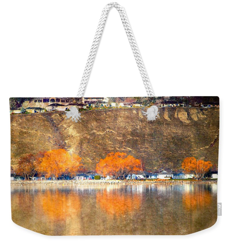 Reflections Weekender Tote Bag featuring the photograph March 13 2010 by Tara Turner