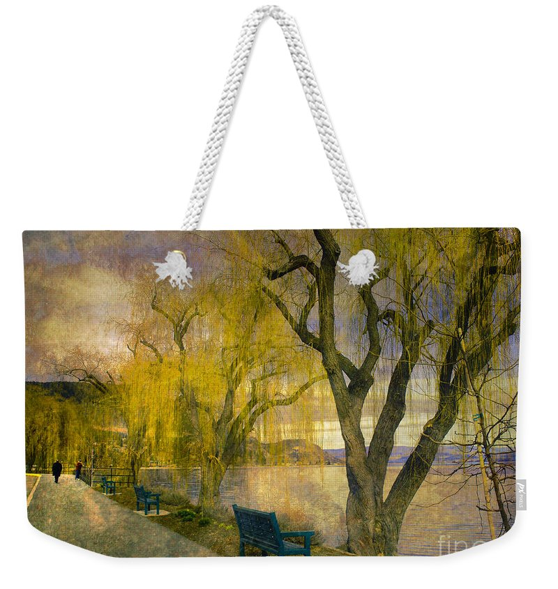 Lake Weekender Tote Bag featuring the photograph March 14 2010 by Tara Turner