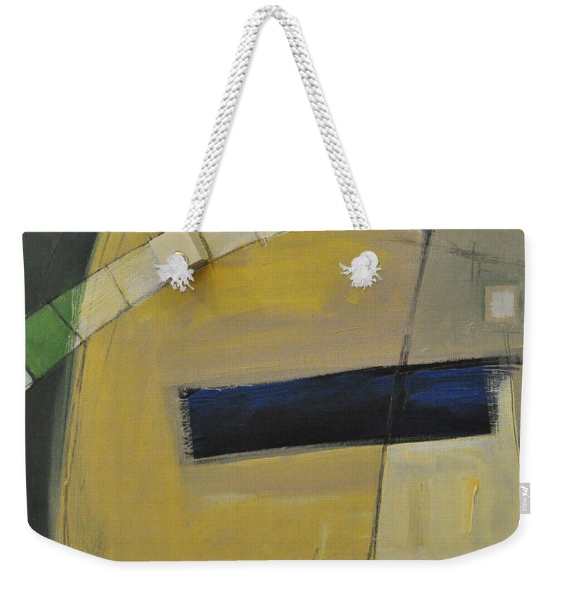 Marching Orders Weekender Tote Bag featuring the painting Marching Orders - Dna by Tim Nyberg