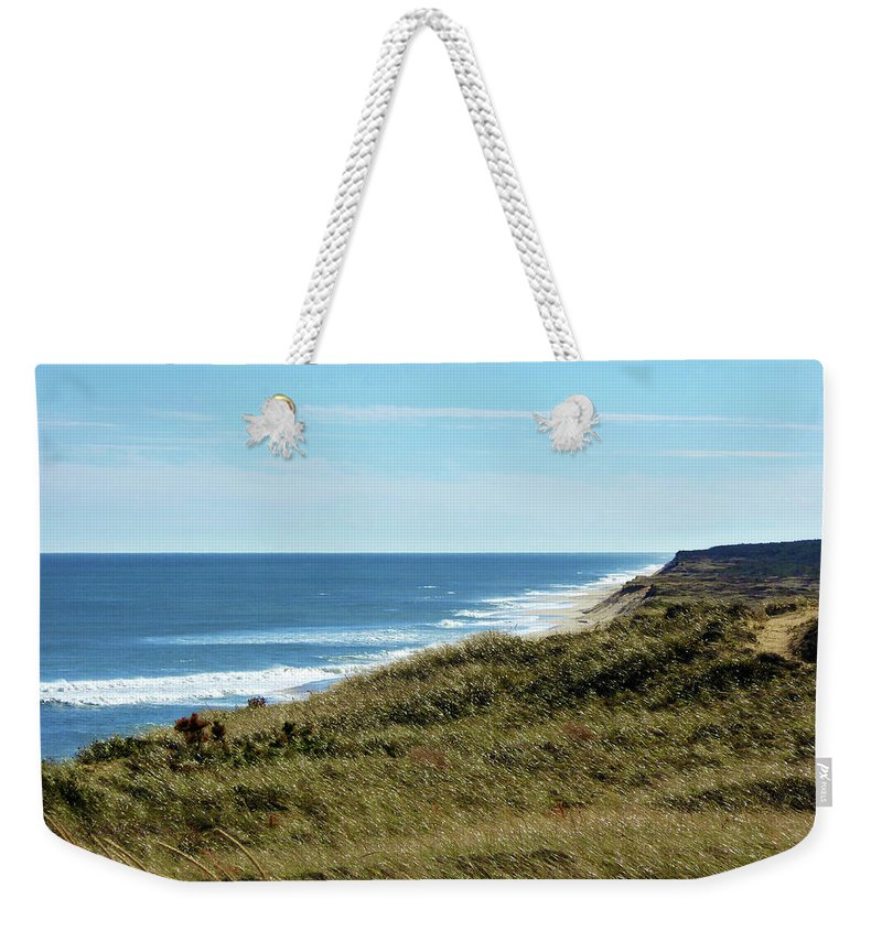 Nature Weekender Tote Bag featuring the photograph Marconi Highlands II by Steven Scanlon