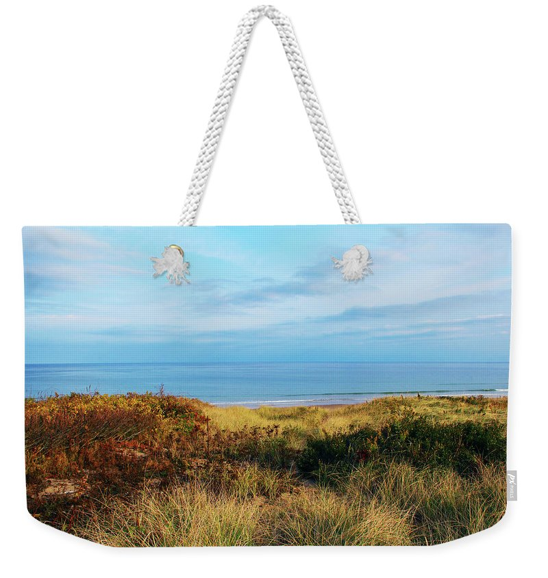 Photography Weekender Tote Bag featuring the photograph Marconi Highlands by Steven Scanlon