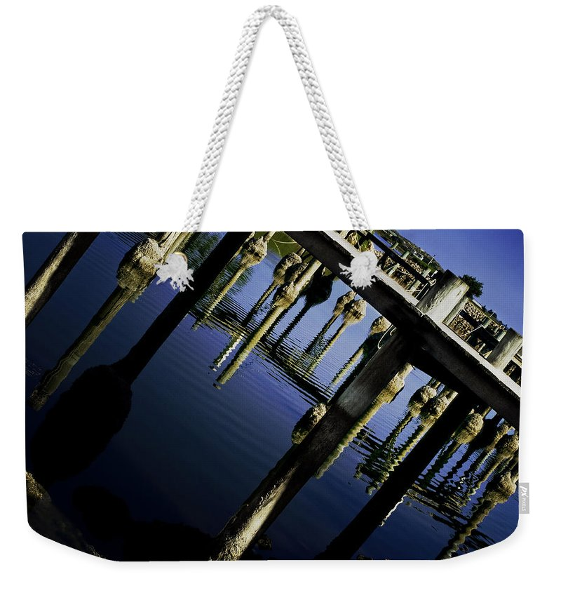 Marina Weekender Tote Bag featuring the photograph Marina by Kelly Jade King