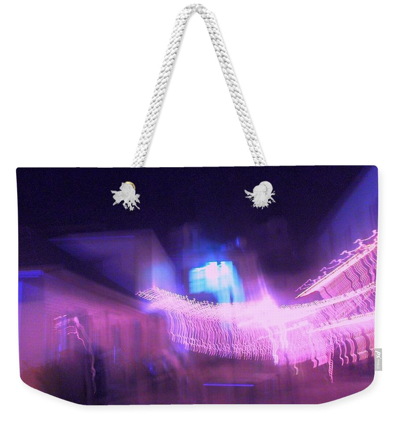 Photograph Weekender Tote Bag featuring the photograph Marion Court Room by Thomas Valentine
