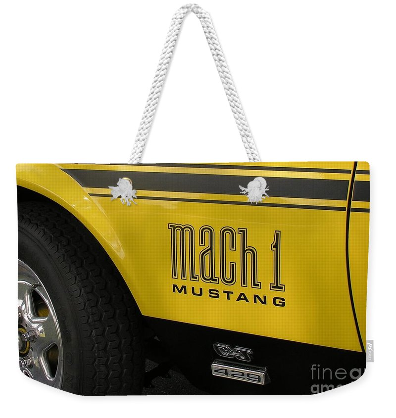 Race Car Weekender Tote Bag featuring the photograph Mark Of The Beast by Richard Rizzo