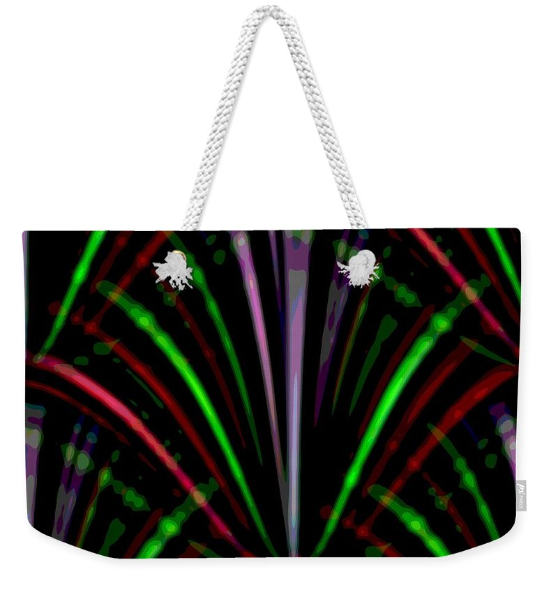 Marquee Weekender Tote Bag featuring the digital art Marquee by Tim Allen