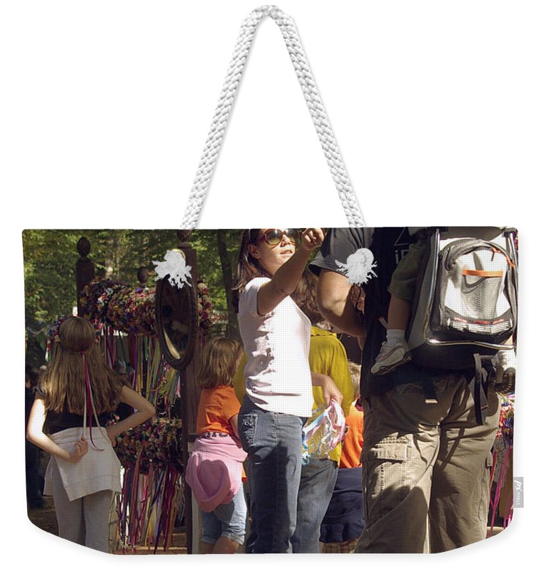 2d Weekender Tote Bag featuring the photograph Marriage by Brian Wallace