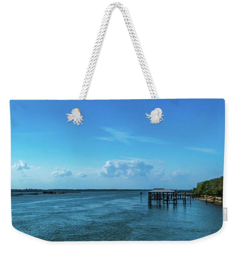 Matanzas River Weekender Tote Bag featuring the photograph Matanzas River by Shawn Foley