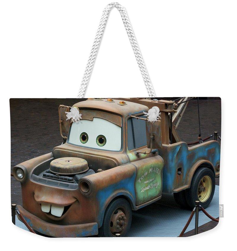 Vintage Truck Photographs Weekender Tote Bags
