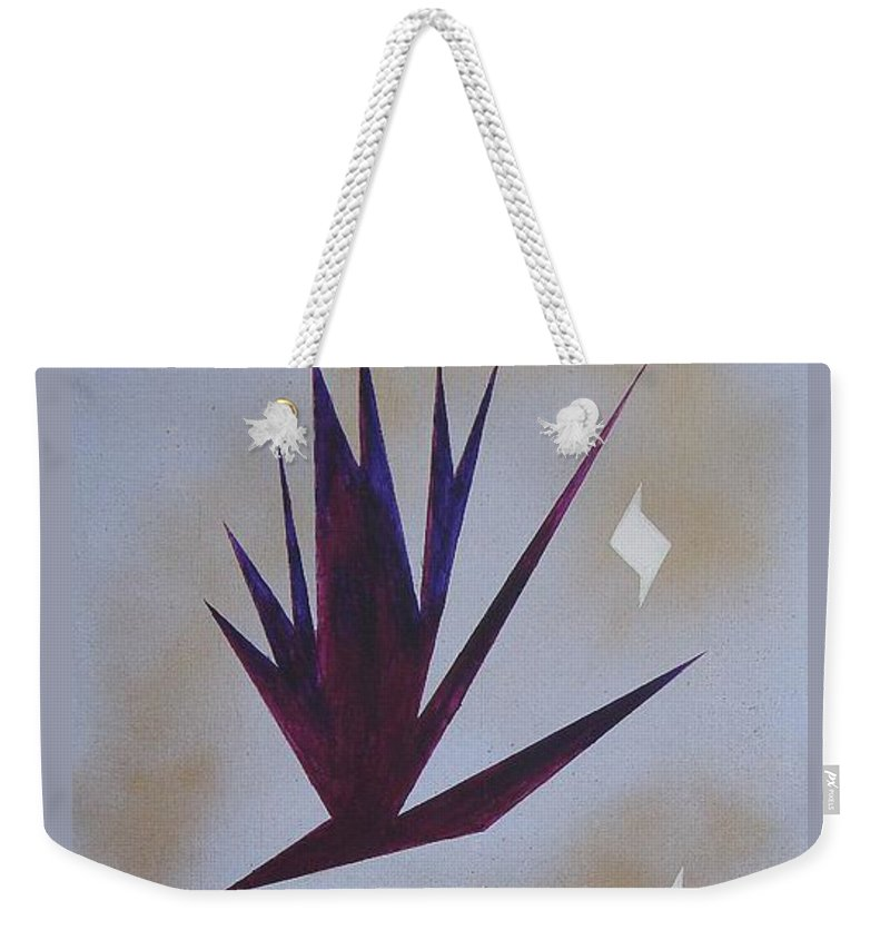 Birds Weekender Tote Bag featuring the painting Mating Ritual by J R Seymour