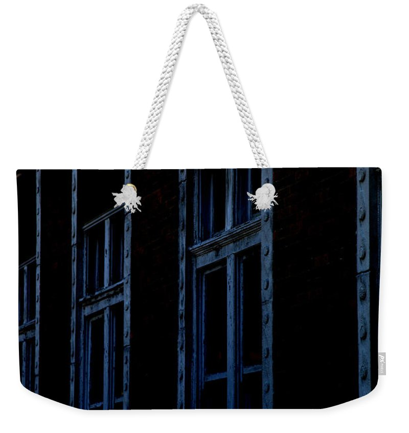 Windows Weekender Tote Bag featuring the photograph Matrix by Amanda Barcon