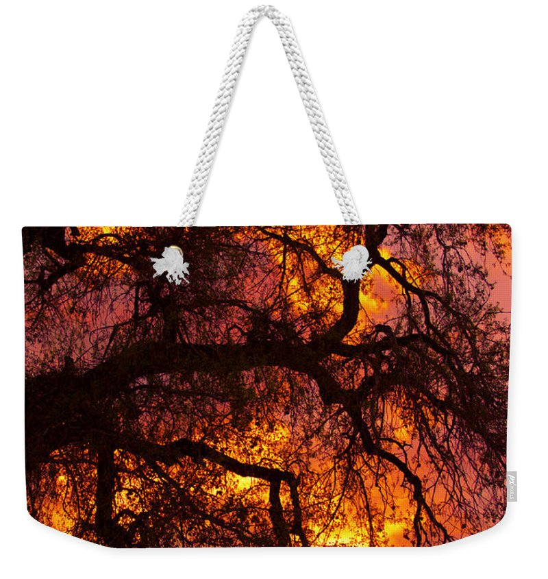 Sunset Weekender Tote Bag featuring the photograph May One Sunset by James BO Insogna