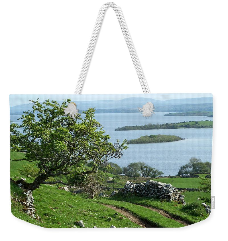 Ireland Weekender Tote Bag featuring the photograph May The Road Rise To Meet You by Teresa Mucha