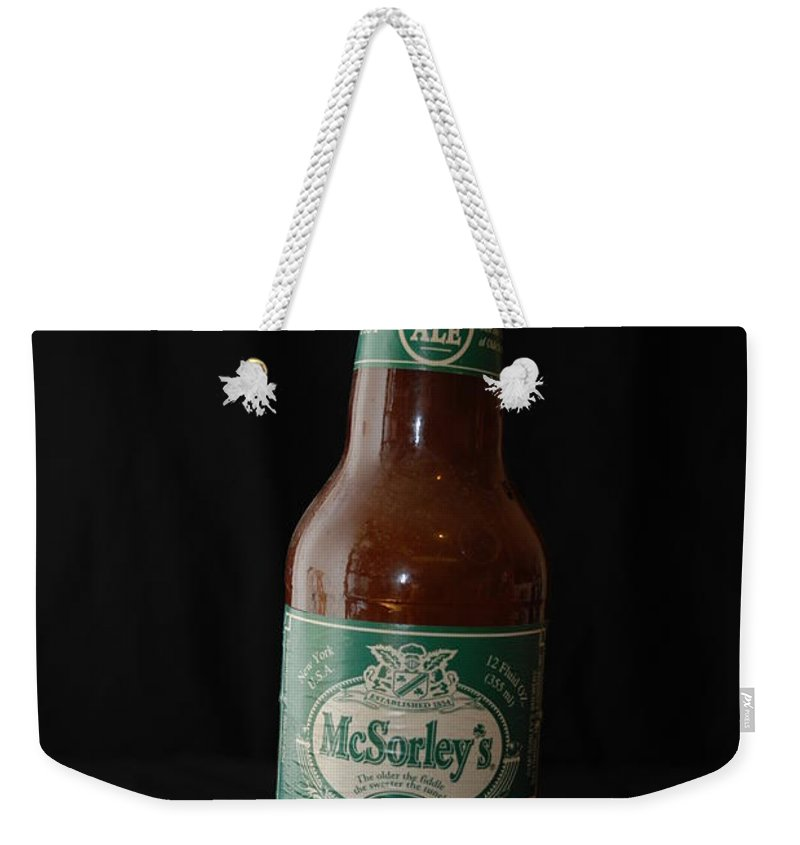 Mc Sorleys Old Ale House Weekender Tote Bag featuring the photograph Mc Sorleys by Rob Hans