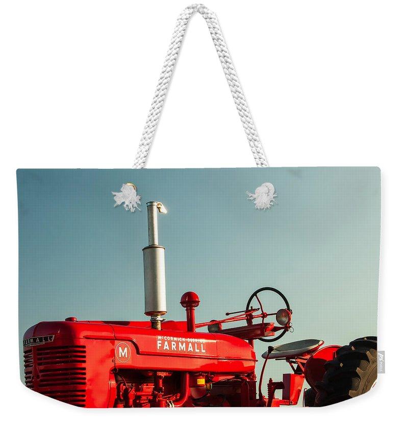 Tractor Weekender Tote Bags