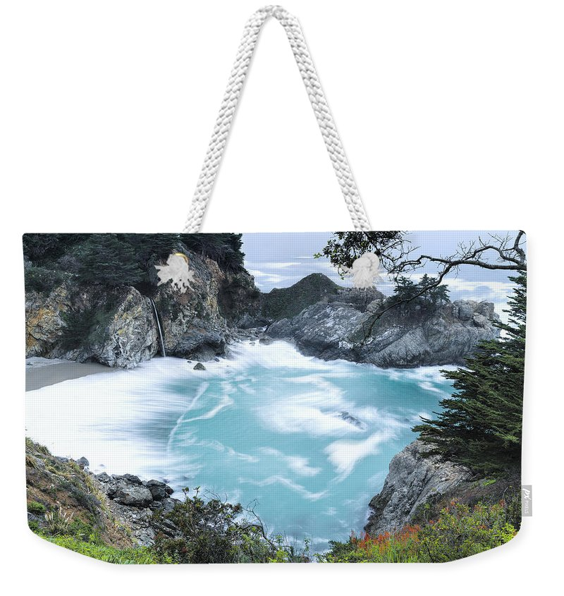 Mcway Falls Weekender Tote Bag featuring the photograph Mcway Falls by Mike Herdering
