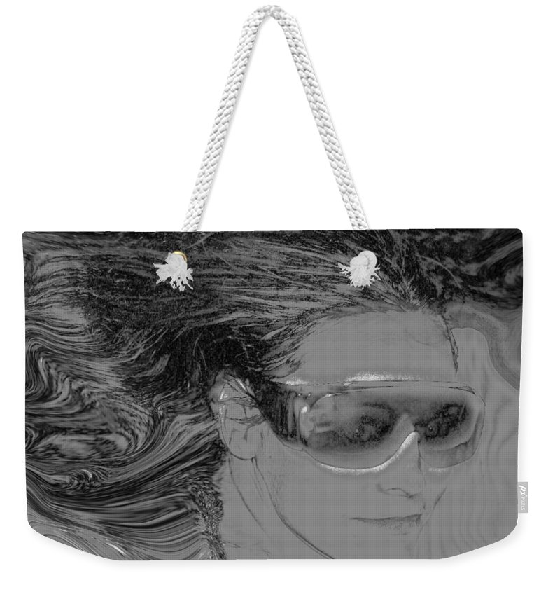 Me Weekender Tote Bag featuring the photograph Me by Linda Sannuti