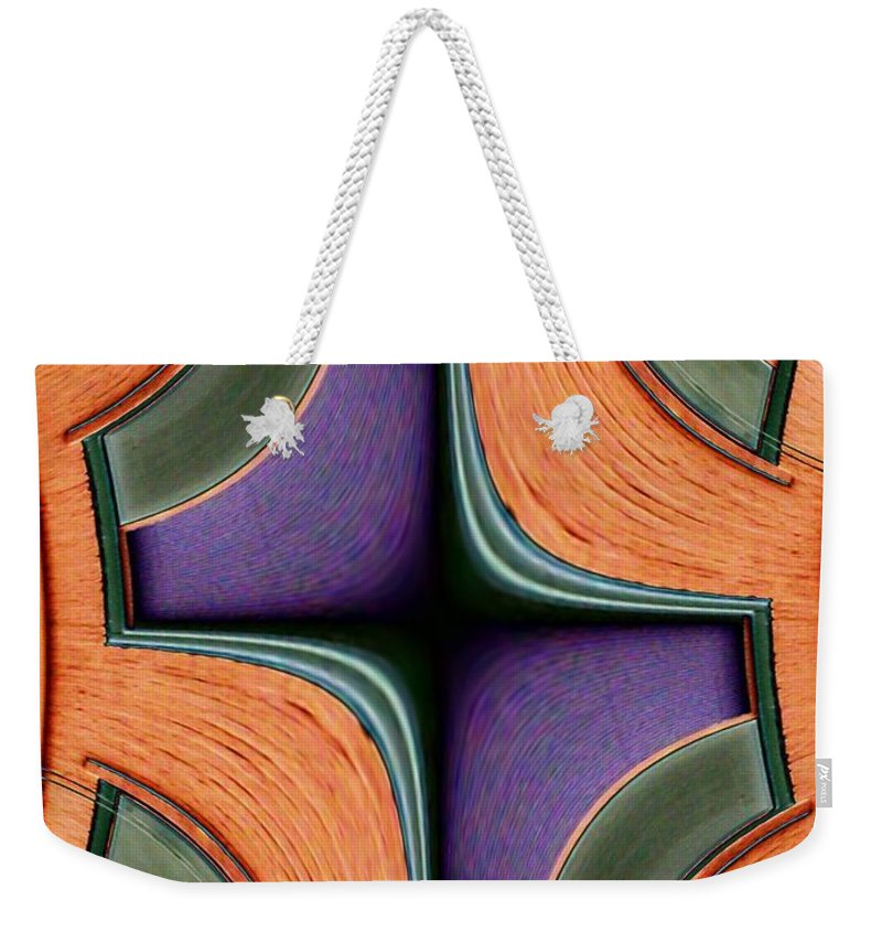 Windows Weekender Tote Bag featuring the photograph Melded Windows by Tim Allen