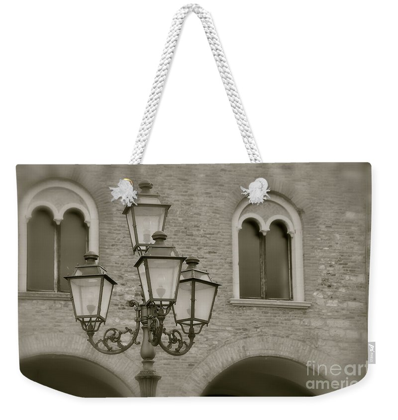 Memorie Weekender Tote Bag featuring the photograph Memories by Ilaria Andreucci