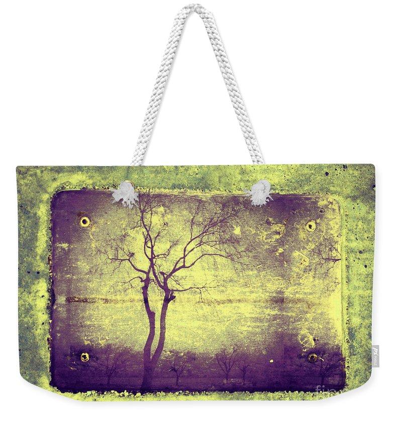 Horizon Weekender Tote Bag featuring the photograph Memories Like Trees by Tara Turner