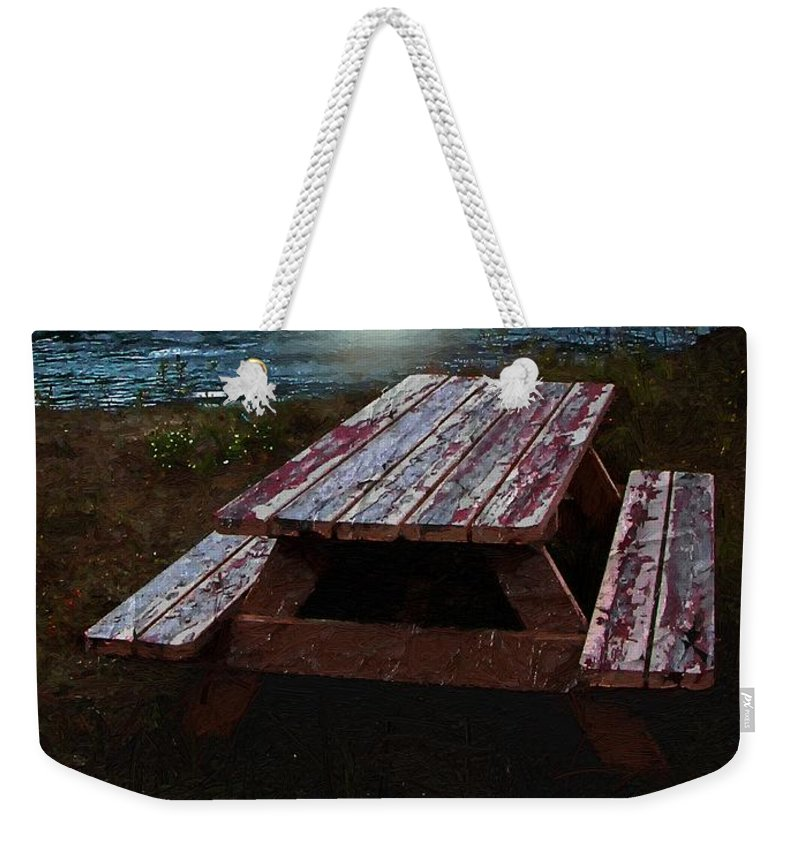 Autumn Weekender Tote Bag featuring the painting Memories Of Summers Past by RC DeWinter