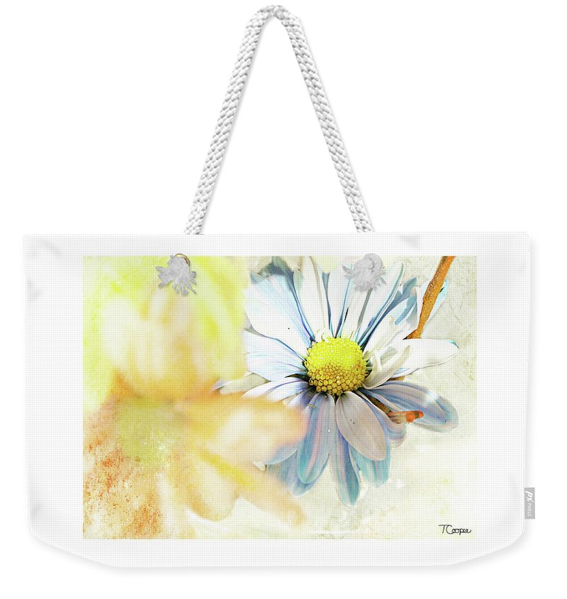 Fine Art Weekender Tote Bag featuring the photograph Mercy by Tonya Cooper