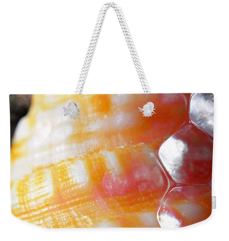 Skiphunt Weekender Tote Bag featuring the photograph Merge 2 by Skip Hunt