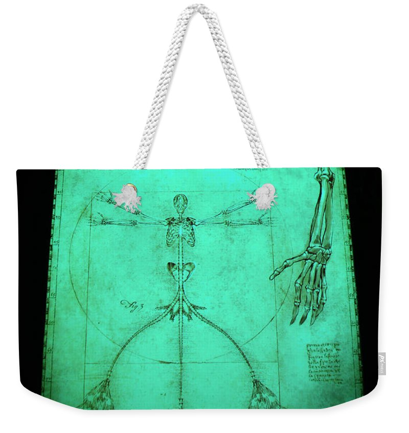Mermaid Weekender Tote Bag featuring the photograph Mermaid Anatomia by David Lee Thompson