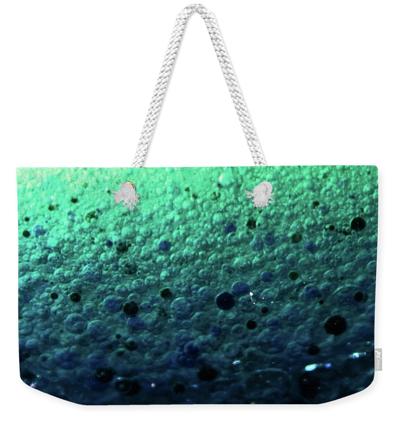 Abstract Weekender Tote Bag featuring the photograph Mermaid by Brandy Stinchcomb