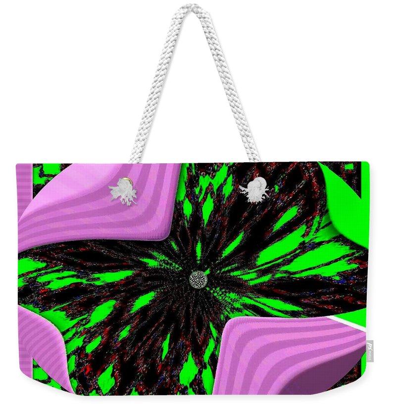 Metamorphose Weekender Tote Bag featuring the digital art Metamorphose by Will Borden