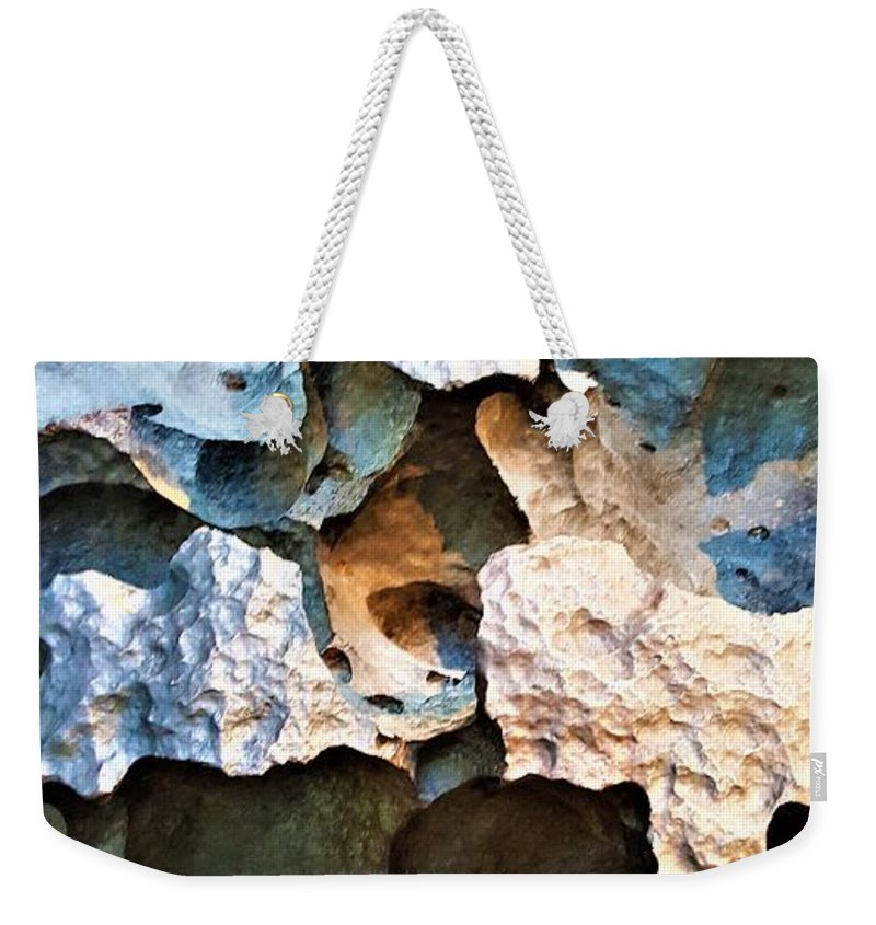 Space Weekender Tote Bag featuring the photograph Meteor Rock by Rob Hans