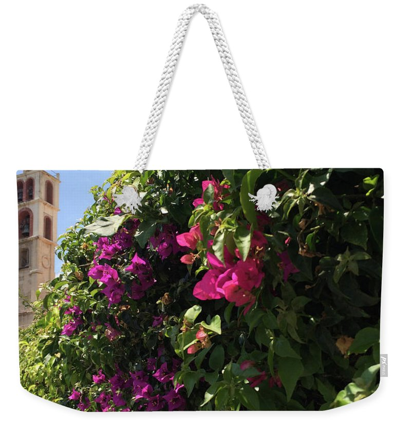 Cyprus Weekender Tote Bag featuring the photograph Metropolis Of Larnaca by Clay Cofer