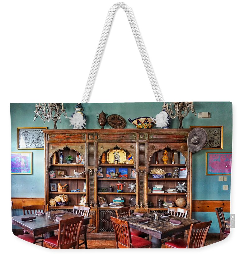 Mexican Restaurant Decor Weekender Tote Bag featuring the photograph Mexican Restaurant Decor by Eduardo Palazuelos Romo
