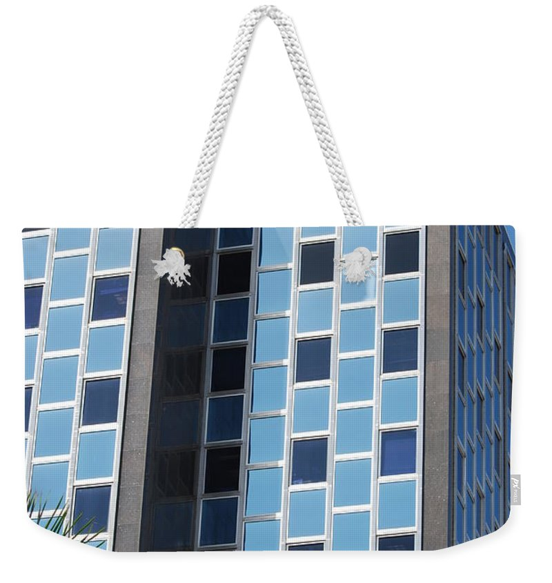 Architecture Weekender Tote Bag featuring the photograph Miami Checker Board by Rob Hans